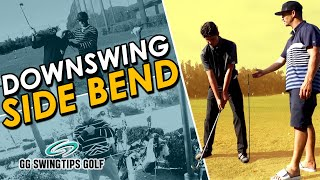 Improve Your Downswing | Side Bend Golf VLOG