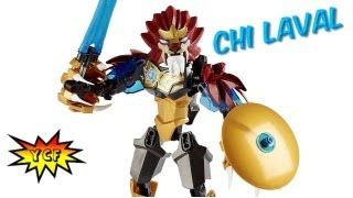 Lego Chima Chi Laval Ultrabuild Review & Time-lapse - Legends Of Chima Lego 70200