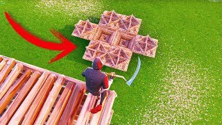 How To MERGE Structures In FORTNITE With This INSANE Glitch