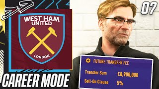 WHAT A SIGNING FROM LIVERPOOL!!!😱 - FIFA 21 West Ham Career Mode EP7