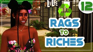♻️ Recycled Rags to Riches ♻️The Sims 4 Eco Lifestyle 🌿 #12 Preparing for Winter + WE RICH