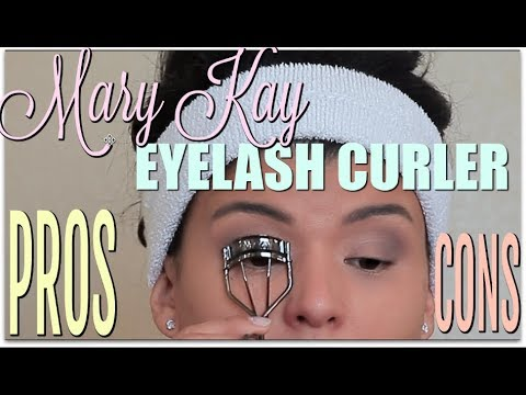 42ad0b3f87d Worth it or Worthless ? Mary Kay Eyelash Curler PROS & CONS - YouTube