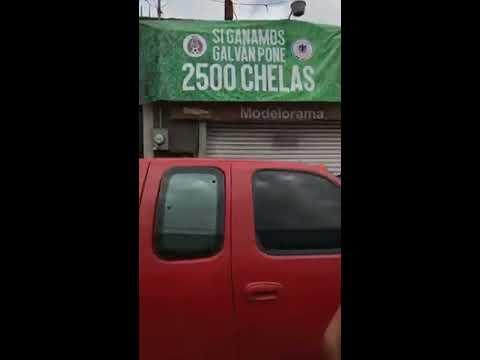 Si México gana, Galván pone 2500 cervezas
