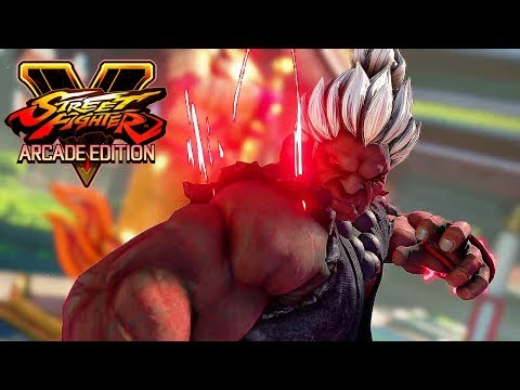 Street Fighter 5 AE - SHIN AKUMA Boss Battle (Arcade mode) @ 1080p (60ᶠᵖˢ) HD ✔