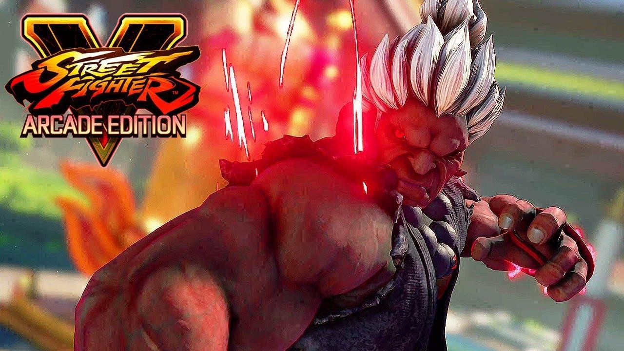 Street Fighter 5 Ae Shin Akuma Boss Battle Arcade Mode 1080p 60ᶠᵖˢ Hd Youtube
