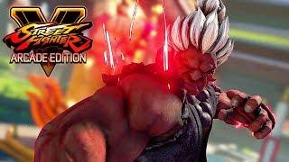 Street Fighter 5 AE - SHIN AKUMA Boss Battle (Arcade mode) @ 1080p (60ᶠᵖˢ) HD ✔