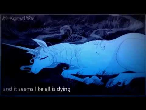 The last unicorn - America (lyrics)