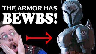 Is Mandalorian boob armor impractical, sexist or dangerous? Star Wars