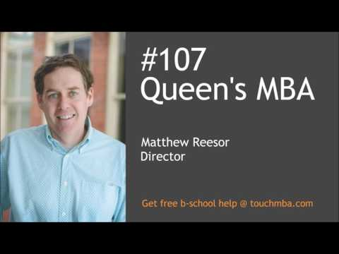 """Queen's MBA Admissions Interview with Matt Reesor – """"Team-based"""""""