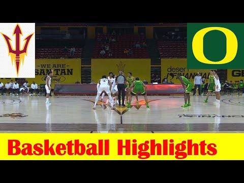 Oregon vs Arizona State Basketball Game Highlights 2 11 2021