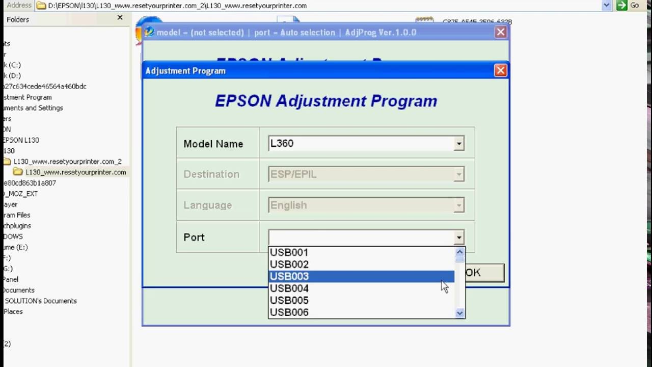 free download resetter printer epson l360