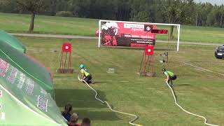 1. SDH Chotěmice finále 14:09 -- THL Zhoř u Tábora 15.9.2018