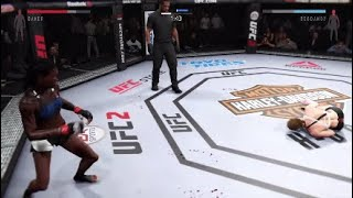 (Untouchable God) UFC 2 Highlights