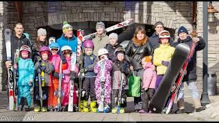 Обучение детей горнолыжной технике в Поволжской школе 'Ski16' Казань