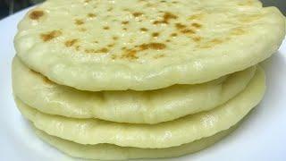 Butter Naan വളരെ എളുപ്പത്തിൽ ഉണ്ടാക്കാം| Butter Naan- Naan without Oven-eggless naan
