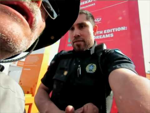 Federal Police on Montreal's waterfront Assaulted me while in my wheelchair