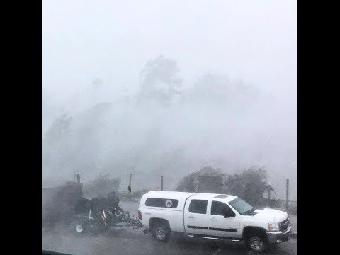 Hurricane Michael in Marianna, Florida - 10/10/2018