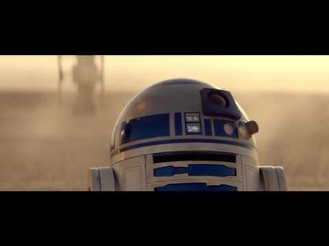 Star Wars The Force Awakens C-3PO & R2-D2 meet BB-8 |official O2 Priority contest