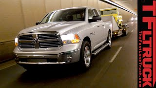 2015 ram 1500 ecodiesel ike gauntlet extreme towing test fully loaded