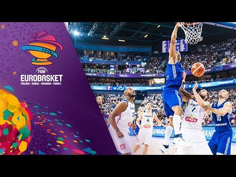 France v Finland - Full Game - FIBA EuroBasket 2017