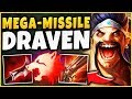 WTF!? DRAVEN CAN ONE-SHOT ANYONE FROM A MILE AWAY?!? THIS IS ACTUAL MADNESS!! - League of Legends