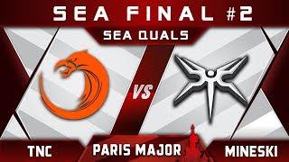 TNC vs Mineski - Last SEA slot at Disneyland Paris Major MDL 2019 Highlights Dota 2