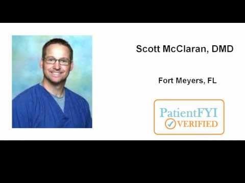 Best Dentist in Fort Myers, FL- (239) 936-0181 (PatientFYI Verified -  Dr. Scott McClaran)