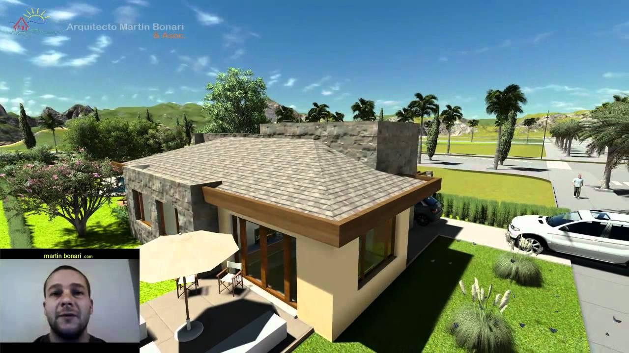 Planos de casas arquitecto mart n bonari testimonio de - Casas de arquitectos ...