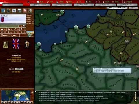 Heart Of Iron 2 Doomsday MOD 33 Campagne Multijoueur Episode Guerre Conquete Empire
