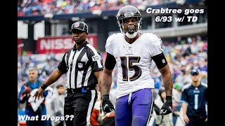 Baltimore Ravens Film Session || Crabtree Focused Again