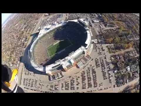Skydive Into Lambeau Field