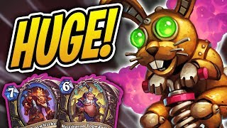 HUGE 29/29 POGO-HOPPER IN THE SPIRIT OF EASTER! | Pogo Rogue | Rise of Shadows | Hearthstone