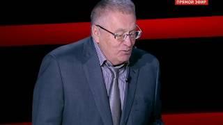 Жириновский смеется над своим анекдотом