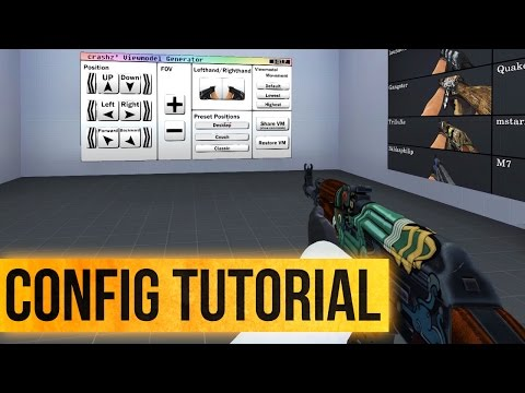 Useful CS GO binds (viewmodels) by H-GAMES