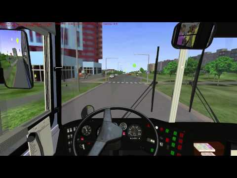 OMSI The Bus Simulator - Praga Map Gameplay HD