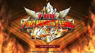 Fire pro wrestling world 1.1 - 14 NEW MOVEZ!!!!!