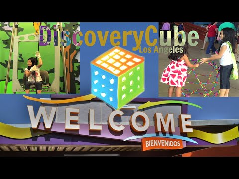 DISCOVERY CUBE | Science Museum LA | (Ep.27)
