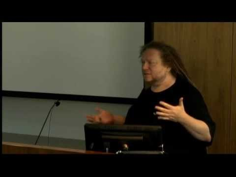 """Jaron Lanier """"First thought, best thought"""" at Chapman University 2014"""