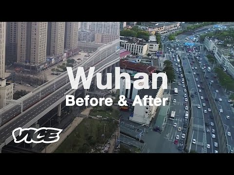 Wuhan Streets During and After Quarantine Lift