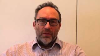 Jimmy Wales celebrates Wikipedia39s 15th birthday