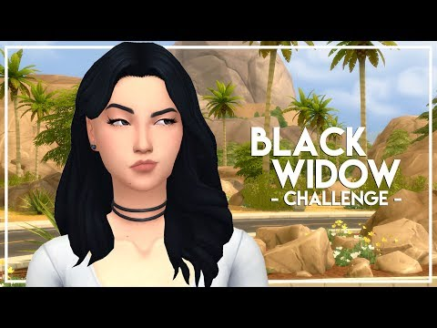 IS SHE PREGNANT?! // The Sims 4: Black Widow Challenge #6