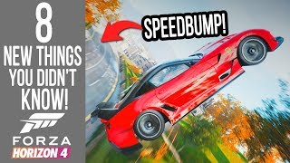 Forza Horizon 4 - 8 *NEW* Things You Didn't Know! Glitches, Easter Eggs & Secrets.