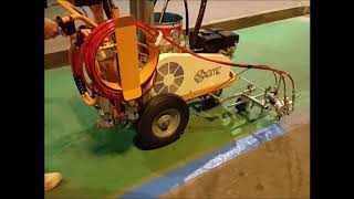 Ar30pro 2c Cmc Road Marking Machines Youtube