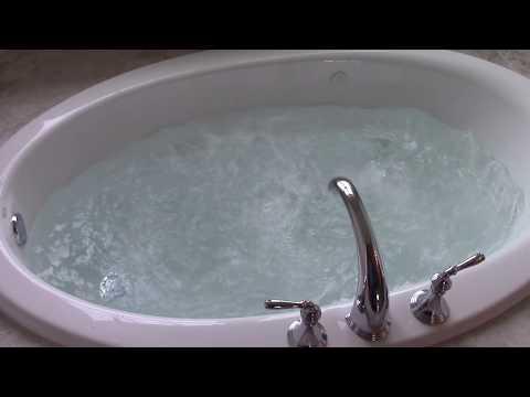 Kohler Whirlpool Tub Operation.