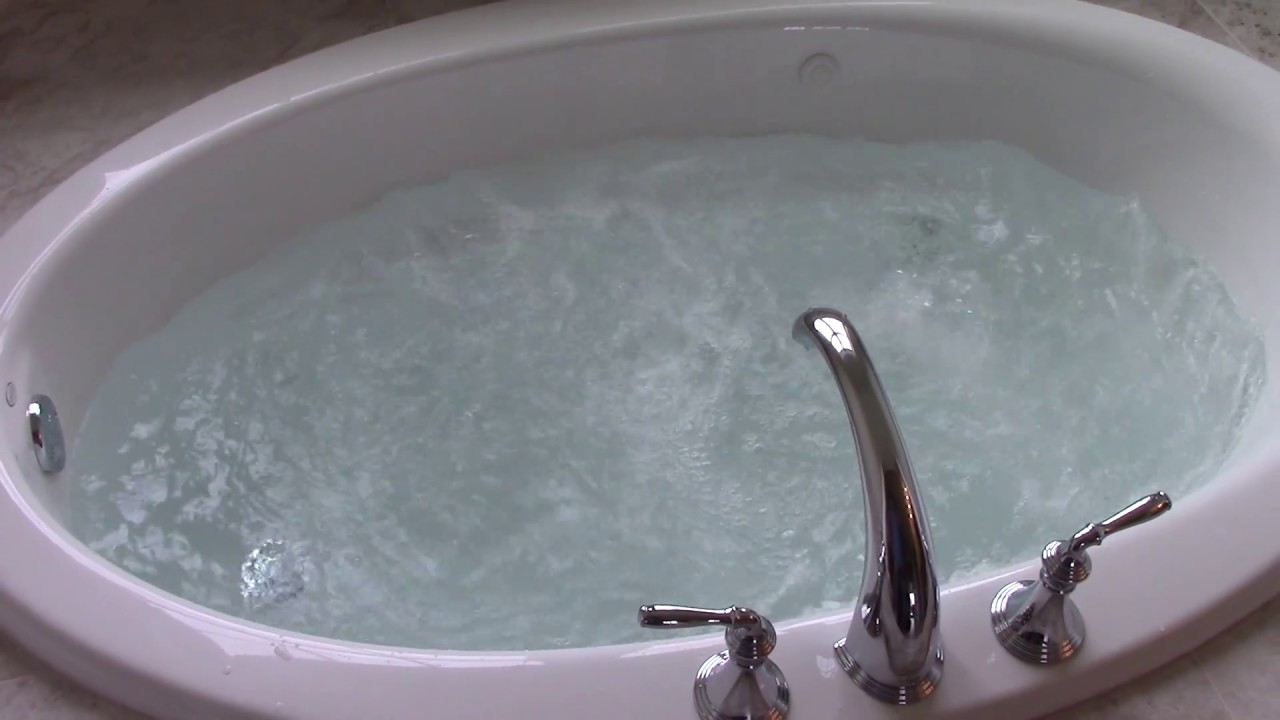 Kohler Whirlpool Tub Operation. - YouTube