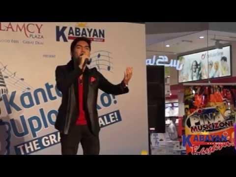 KMUK Grand Finale: Ishmael Saforteza sings Gary Valenciano's Ikaw Lamang