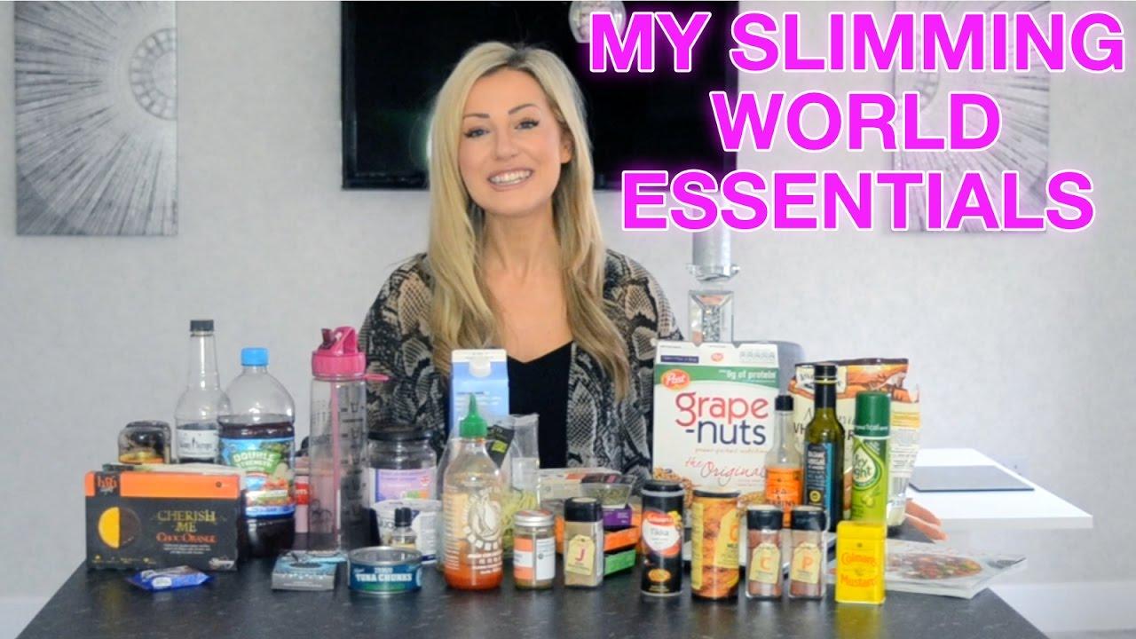 My Slimming World Essentials Youtube