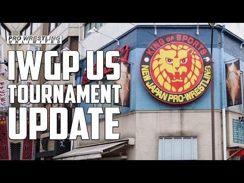 News On New Japan's IWGP United States Championship Tournament