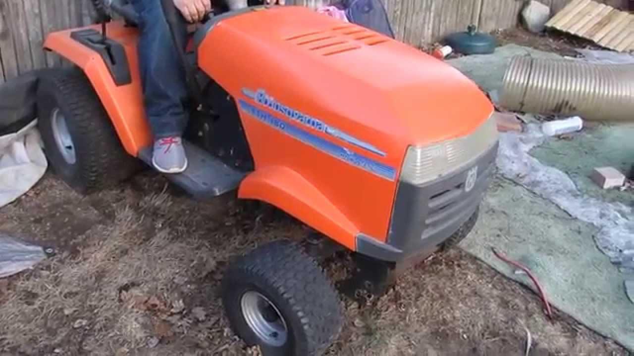 Husqvarna YTH 180 Lawn tractor for sale craigslist RI ...