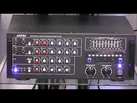 Ampro PMA-320 720W Max Hi-End Karaoke Mixing Amplifier with Echo